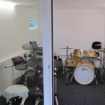 Bouw muziekstudio